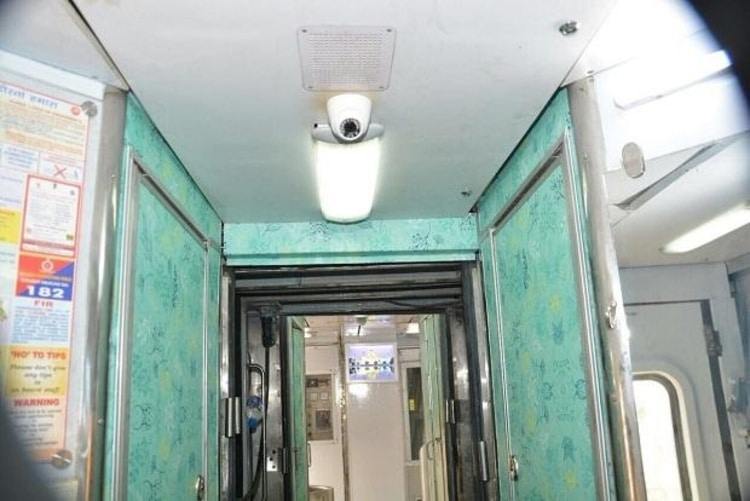Installed Camera in Coaches