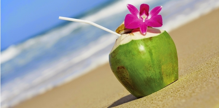 Beach-Coconut-Water