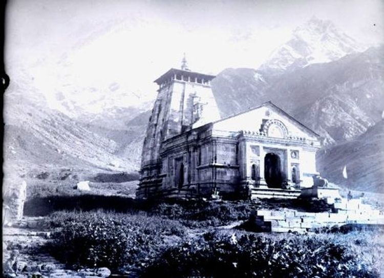 Old Image of Temple