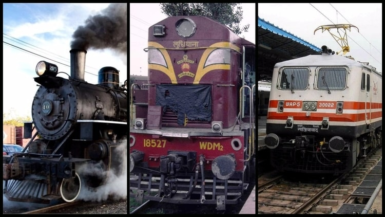 Types of Locomotives