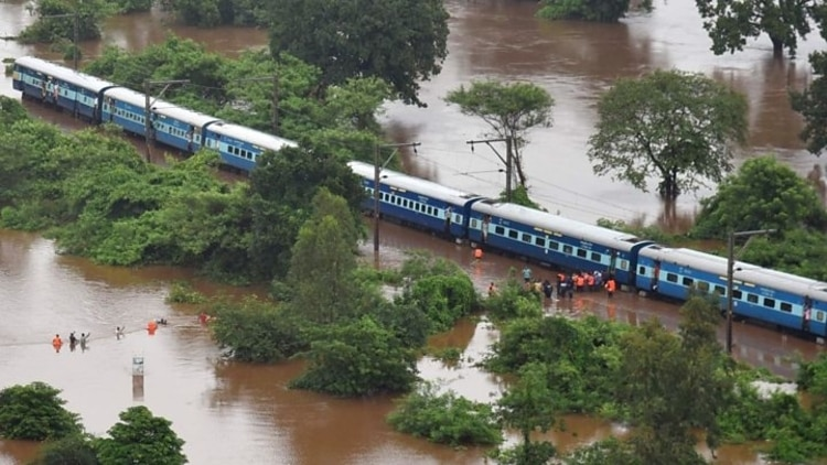 Mumbai Flood Train