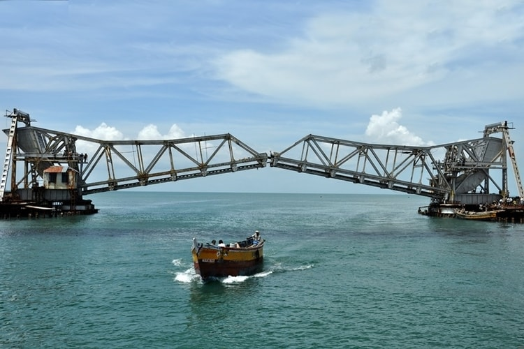 Pamban Bridge Part