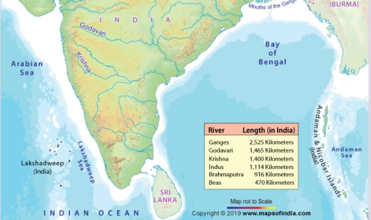 South India Rivers