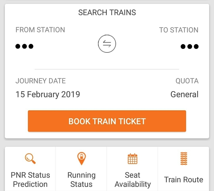 Trainman booking